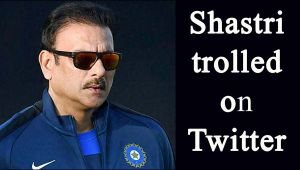 Ravi Shastri trolled by Twitterati, Know Why