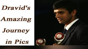 Rahul Dravid special: Amazing journey of the legend see in pictures
