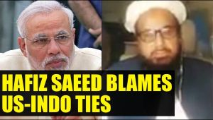 Hafiz Saeed blames Indo US friendship for his house arrest