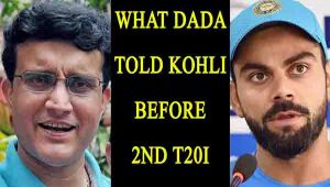 Sourav Ganguly advised Kohli to play with 3 spinners in Nagpur