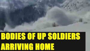 UP Soldiers killed in avalanche being brought home