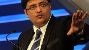 Arnab Goswami changes channels name to Republic TV