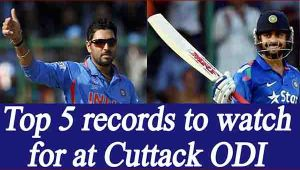 India vs England, Cuttack ODI : Top 5 records Team India can set