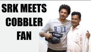 Shahrukh Khan meets cobbler fan who inspired by his Raees dialogue