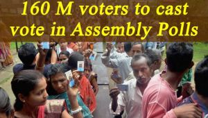 Assembly Elections 2017: 160 million voters to cast vote, says EC; Watch Video