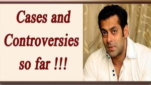 Salman Khan controversies : Here is the list