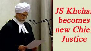 Jagdish Singh Khehar takes oath as new Chief Justice of India