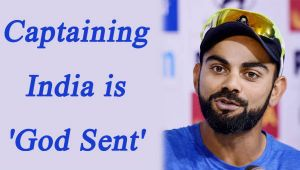 Virat Kohli feels, Captaining in 3 formats is 'God Sent'