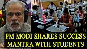 PM Modi shares success mantra with students in Mann Ki Baat