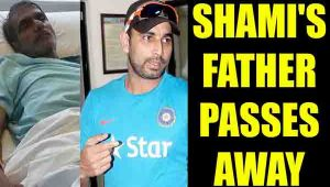Mohmmad Shami's father passes away after suffering cardiac arrest