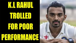 KL Rahul trolled on Twitter for his poor performance against England