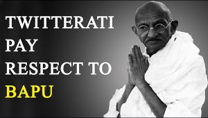 Mahatma Gandhi Death Anniversary: Twitterati pay respect to Gandhi