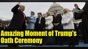 Donald Trump takes oath as 45th US President: Watch amazing picture of the moment