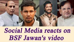 BSF Jawan Video: Politicians to Bollywood Stars react on Social Media