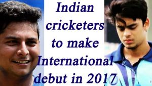 Indian Cricketers making international debut in 2017