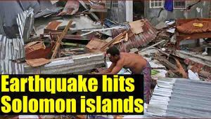 Solomon Islands hit by earthquake, no tsunami warning