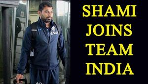Mohammd Shami asked to join Team India by BCCI