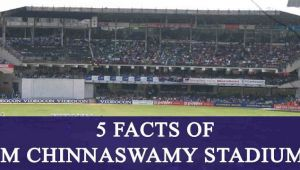 India Vs England: Top 5 facts of M Chinnaswamy Stadium
