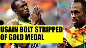 Usain Bolt stripped of 2008 Olympics gold medal