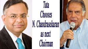 Tata picks Natarajan Chandrasekaran as group chairman