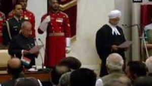 Justice J.S. Khehar takes oath as 44th Chief Justice of India