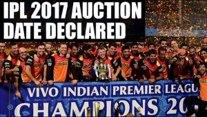 IPL 2017 auction to be held on Feb 20 , says BCCI