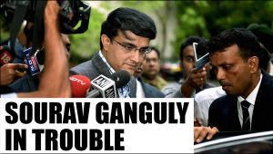 Sourav Ganguly faces allegation of ticket scam : Watch video