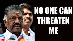O Panneerselvam says, no one can threaten me, Jayalalithaa Raised Me Strong