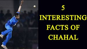 Yuzvendra Chahal: 5 facts you need to know