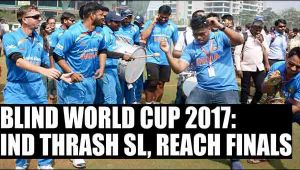 Blind T20 World Cup 2017: India thrash Sri Lanka to reach finals