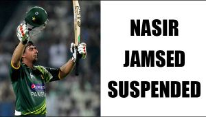 Pakistani crickter Nasir Jamsed suspended for spot fixing