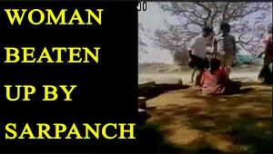 Andhra woman beaten up by village sarpanch; Watch video