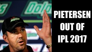 Kevin Pietersen  confirms he won't play for IPL 2017