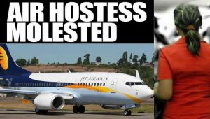 Jet Airways air hostesses allegedly molested by drunk passenger