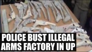 Police seize illegal arms factory, five arrested: Watch Video