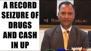 UP Elections 2017: EC reveals a record seizure of cash, liquor and drugs: Watch video