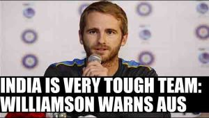 Kane Williamson warns Australia ahead of Test tour of India