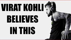 Virat Kohli asks young Indian athletes, love and live your dreams