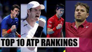 ATP rankings announce, Here are top 10 players