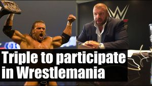 WWE Wrestlemania Triple H to compete despite Seth Rollins injury
