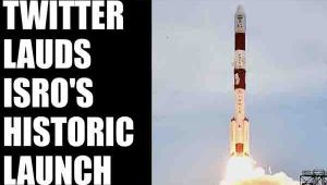 ISRO creates history by launching PSLVC37; Here's how twitter reacted