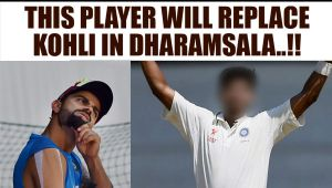 Virat Kohli may not play in Dharamsala Test, Shreyas Iyer called as cover