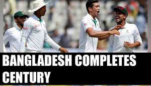 Bangladesh cricket team completes 100 test matches, fastest team to reach milestone