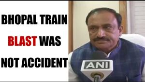 Bhopal train blast site had Gunpowder odour, says MP Home Minister: Watch video