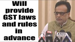 GST Bill: Will provide information on rules and law well in advance: Revenue secretary Adhia