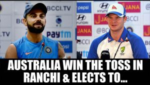 India vs Australia: Steve Smith elects to bat first after winning toss in Ranchi