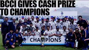 Virat Kohli led Team India gets cash prize of Rs 50 lakh for defeating Australia