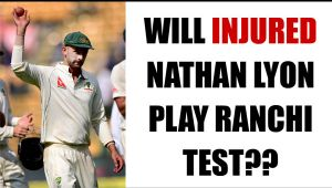 India vs Australia: Nathan Lyon suffers finger injury ahead of Ranchi Test
