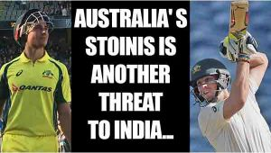 India vs Australia: Marcus Stoinis replaces injured Mitchell Marsh