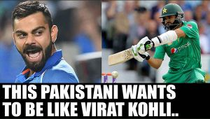 Virat Kohli has Babar Azam as his admirer, who wants to be like him